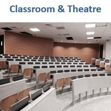 classroom and lecture seating